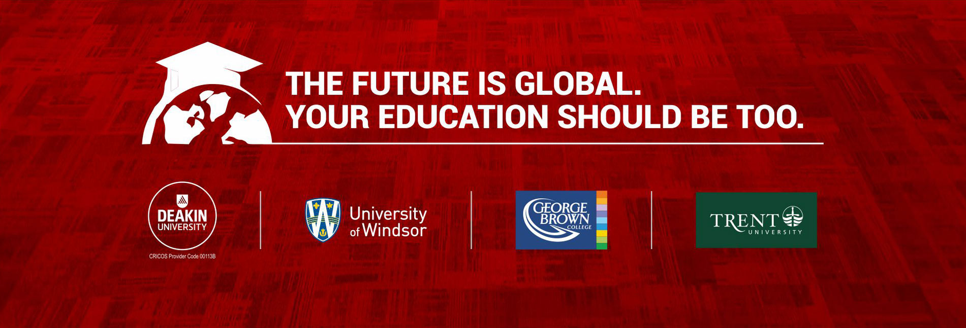 The Future is Global. Your Education should be too.