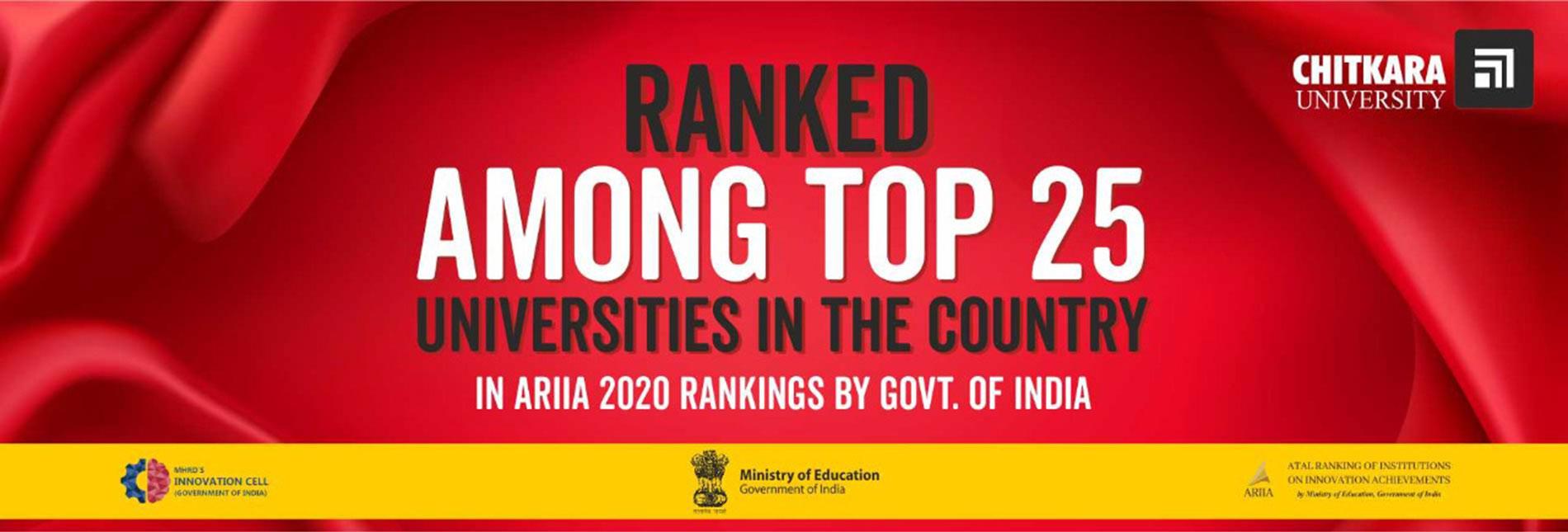 ARIIA 2020 Ranking